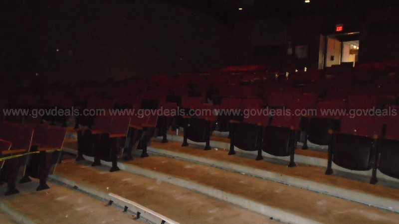 Lot of (900) Theatre Chairs Complete With All Parts