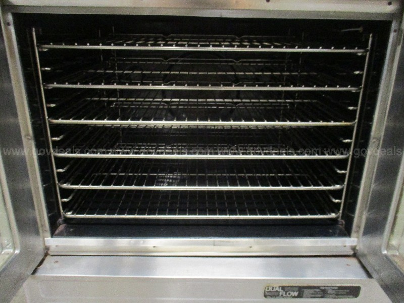 Double Stacked Ovens