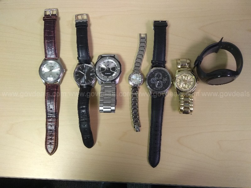 Lot of 7 watches